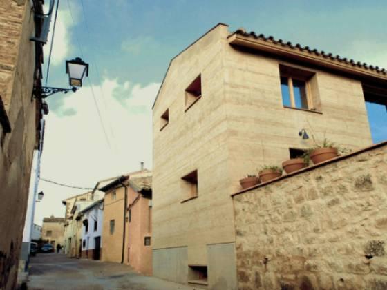 Spanisches Lehmhaus